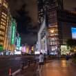 上海南京步行街道夜景照片  –  高清免费正版图片下载