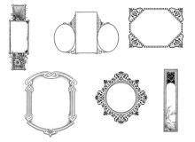 边框、框架装饰图案PS笔刷素材
