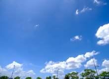 蓝色天空高清照片下载 – 免费正版图片