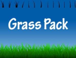 青草、草地、草丛PS笔刷