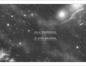 Photoshop星星、星系、银河系笔刷素材