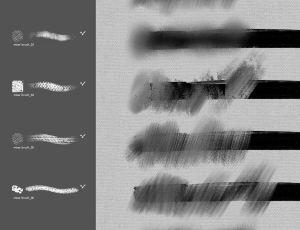 8种Photoshop涂抹效果笔刷