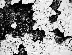 14种高清干涸、干旱开裂、干燥表面纹理PS笔刷