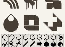 36种矢量组合图案装饰PS笔刷