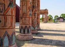 古埃及柱子图像 – 免费商用照片