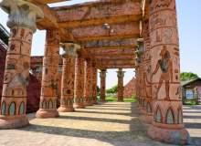 古埃及石柱子走廊 – 免费商用照片