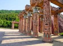 埃及元素走廊柱子照片 –  免费正版图片