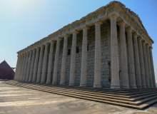 侧面雅典卫城建筑图像 – 免费商用图片