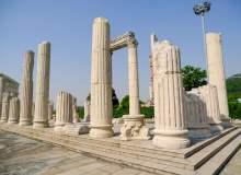 断壁残垣雅典卫城背景 – 免费正版照片下载