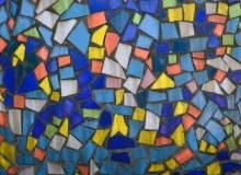 七彩玻璃碎片拼合纹理高清图像 – 免费商用图片