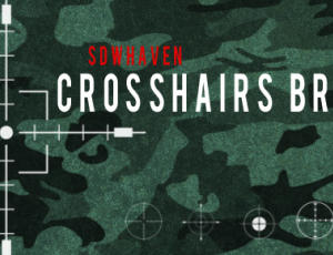 瞄准器、十字架图形PS笔刷