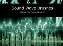 声波、波形纹理PS笔刷