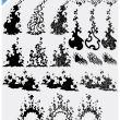21种火焰特效、矢量火焰纹理PS笔刷