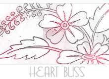 幼稚植物花纹图案PS笔刷