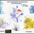 非主流艺术背景装饰图案PS笔刷素材