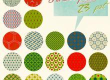23种中国传统纹理背景风格PS填充材质素材