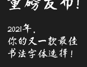 免费正版中文字体下载  – 【庞门正道真贵楷体】