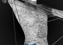 8种高清纤维化人体模型PS科技、科幻笔刷