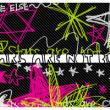童趣涂鸦五角星、爱心、星星PS笔刷素材