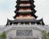 9层宝塔、中国传统风格塔类建筑背景图片下载  –  免费商用
