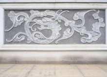 石刻中国龙壁画高清图片下载