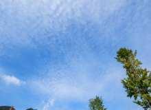 晴朗天空背景高清4K照片
