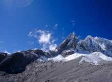 攀登玉龙雪山照片