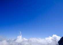 山顶云海之上背景照片下载