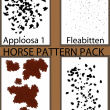斑点纹理、马匹皮肤斑纹底纹图案PS笔刷素材