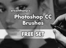 免费Photoshop CC插画艺术创作笔刷下载