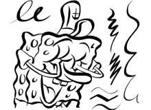 卡通涂鸦绘画PS笔刷素材