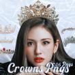 真是皇冠、钻石皇冠装饰PS笔刷素材(PNG图片格式)