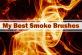 11种烟雾效果PS笔刷素材(带自定义样式风格.asl文件)