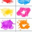 手绘水彩、油漆涂抹真实纹理PS笔刷(JPG格式文件)