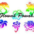 椰子树、带刺玫瑰花图案等photoshop自定义形状素材 .csh 下载