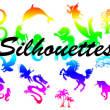 马、独角兽、龙、老鹰、蛇、椰树、海马、天马等photoshop自定义形状素材 .csh 下载