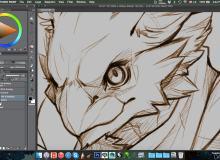 基本画笔clip studio paint 绘画软件笔刷素材(非PS笔刷,CSP画笔)