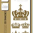 漂亮华丽的皇冠图案PS笔刷