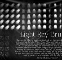 自定义光线照射纹理、射灯效果PS笔刷(PNG透明图片格式素材)