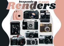 老式相机真实照片素材(PNG格式免扣素材)