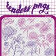 18种手绘精美的的鲜花花朵图案PS笔刷(PNG图片格式)